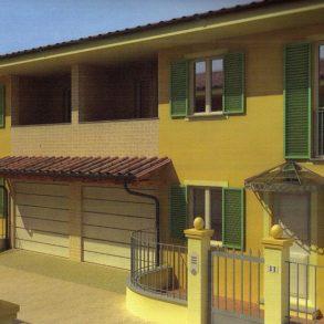Bifamiliare con garage ed ampio giardino