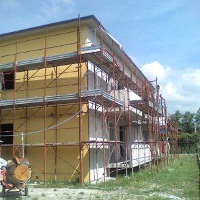 Appartamento nuovo in quadrifamiliare con giardino su 3 lati