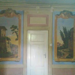 Bifamiliare dell'800 con affreschi originali