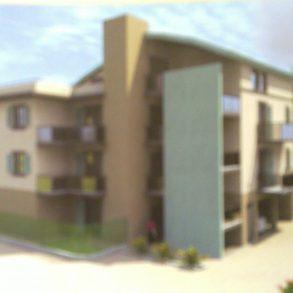 Appartamento con giardino in classe A