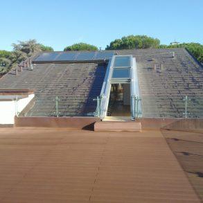 Attico con terrazza di 90 mq a 2 passi dalle mura
