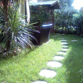 Appartamento con giardino e ampia taverna