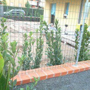 Appartamento con ampio giardino e garage in classe A