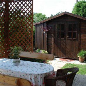 Bella villa finale di schiera con giardino