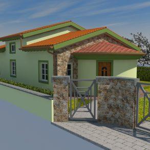 Villa singola con taverna di 100 mq