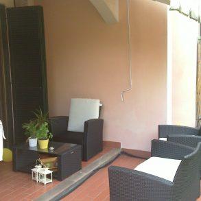 Appartamento con ampio giardino e cantina