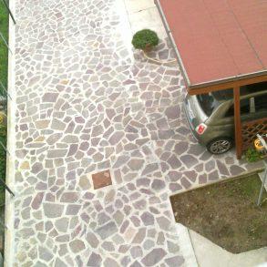 Appartamento con balcone e resede privata