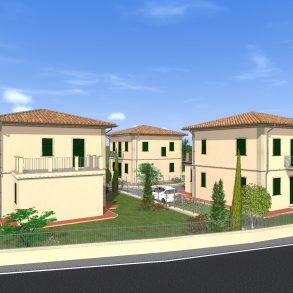 Villa liberty di nuova costruzione vicino centro storico