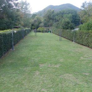 Finale di schiera a rustico con ampio giardino