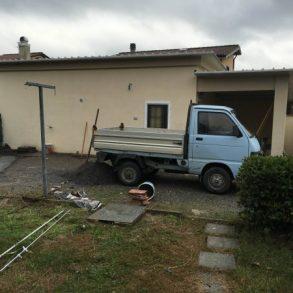 Bifamiliare con ampio giardino e garage