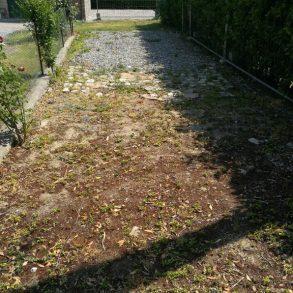 Terratetto d'angolo con giardino privato