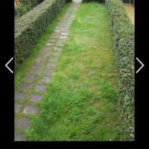 Villetta a schiera con giardino privato su 2 lati