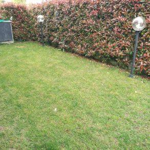 Appartamento con giardino privato e porticato